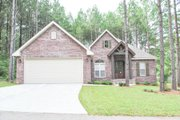 Ranch Style House Plan - 3 Beds 2 Baths 1778 Sq/Ft Plan #430-88 Exterior - Front Elevation