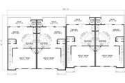 Traditional Style House Plan - 3 Beds 2.5 Baths 7504 Sq/Ft Plan #17-1174 Floor Plan - Main Floor Plan