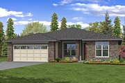 Ranch Style House Plan - 3 Beds 2.5 Baths 2198 Sq/Ft Plan #124-1189