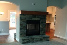 Home Plan - Living Room Fireplace