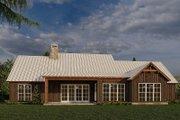 Farmhouse Style House Plan - 4 Beds 2.5 Baths 2113 Sq/Ft Plan #923-181 Exterior - Rear Elevation