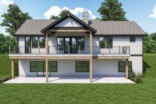House Plan Design - Craftsman Exterior - Rear Elevation Plan #1070-128