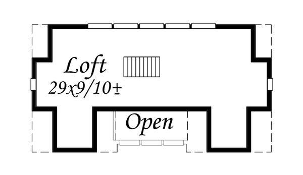 Traditional Floor Plan - Other Floor Plan Plan #509-16