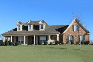 Farmhouse Exterior - Front Elevation Plan #329-263