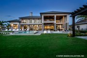 Contemporary Style House Plan - 5 Beds 5.5 Baths 7466 Sq/Ft Plan #930-513 Exterior - Rear Elevation