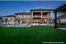 Dream House Plan - Contemporary Exterior - Rear Elevation Plan #930-513