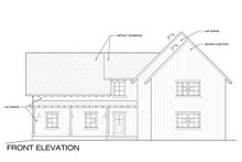 Farmhouse Exterior - Front Elevation Plan #1068-2