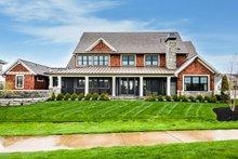 Craftsman Exterior - Rear Elevation Plan #928-321