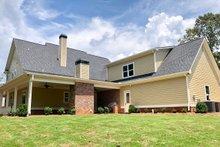 Farmhouse Exterior - Rear Elevation Plan #437-92