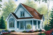 Cottage Style House Plan - 2 Beds 2 Baths 1168 Sq/Ft Plan #23-488