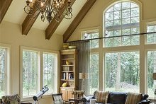 Dream House Plan - Great Room - 5200 square foot Craftsman Home