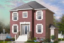 Home Plan - Country Exterior - Front Elevation Plan #23-2193