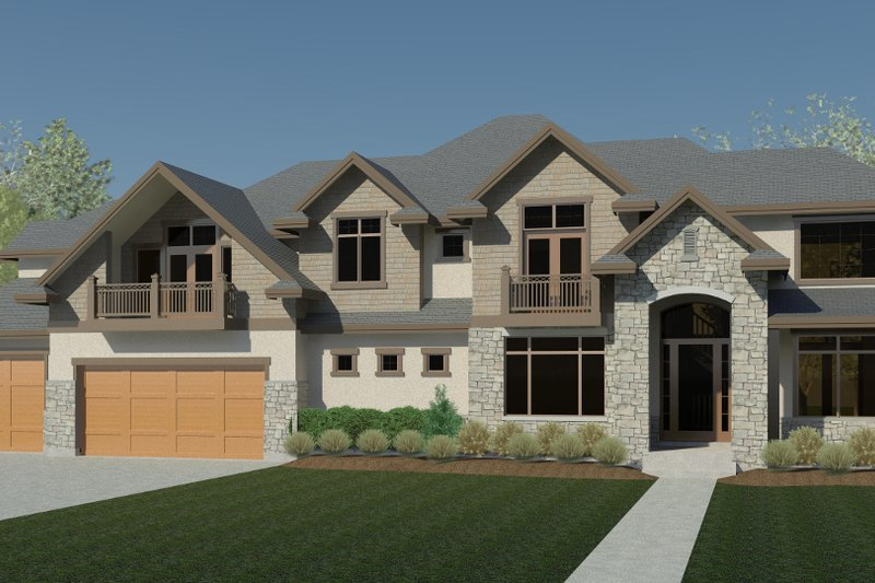Dream House Plan - Traditional Exterior - Front Elevation Plan #920-82