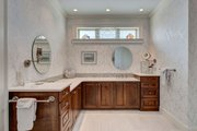 Ranch Style House Plan - 3 Beds 3.5 Baths 2350 Sq/Ft Plan #437-89 Interior - Master Bathroom