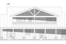 Dream House Plan - Country Exterior - Rear Elevation Plan #932-349