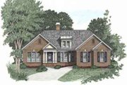 Traditional Style House Plan - 3 Beds 2 Baths 1592 Sq/Ft Plan #129-101