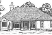 European Style House Plan - 3 Beds 2 Baths 2548 Sq/Ft Plan #30-180 Exterior - Front Elevation