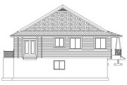 Ranch Style House Plan - 2 Beds 2 Baths 1801 Sq/Ft Plan #1060-40 Exterior - Rear Elevation