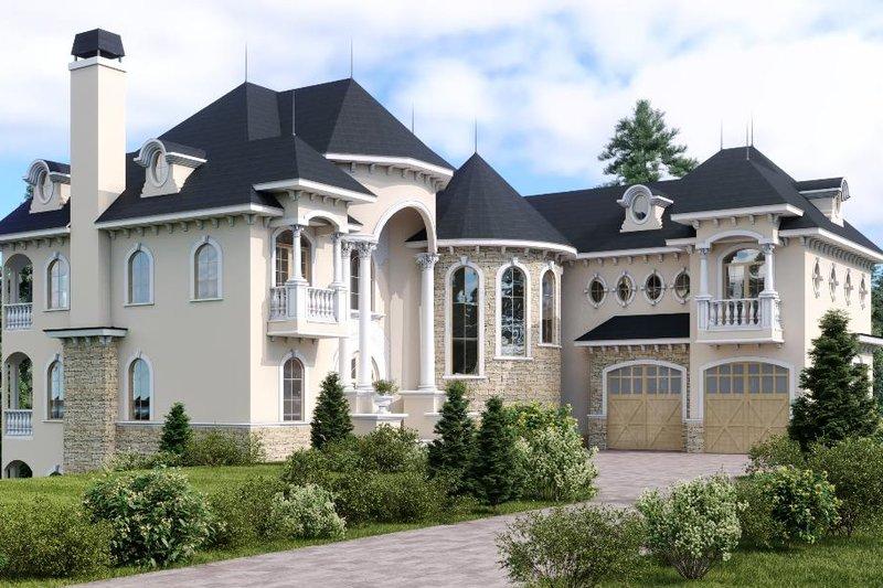 Dream House Plan - Victorian Exterior - Front Elevation Plan #1066-55