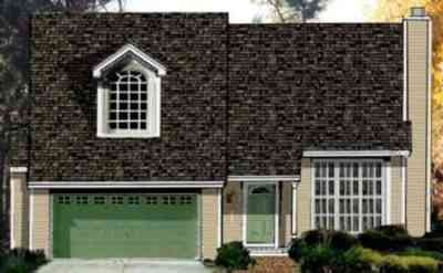 Cottage Exterior - Front Elevation Plan #3-161