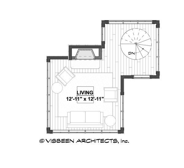 Architectural House Design - Cabin Floor Plan - Other Floor Plan #928-362