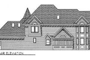 Victorian Style House Plan - 4 Beds 2.5 Baths 3321 Sq/Ft Plan #70-482 Exterior - Rear Elevation