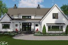 Dream House Plan - Farmhouse Exterior - Front Elevation Plan #51-1134