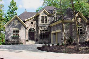 Home Plan - Country Exterior - Front Elevation Plan #453-29