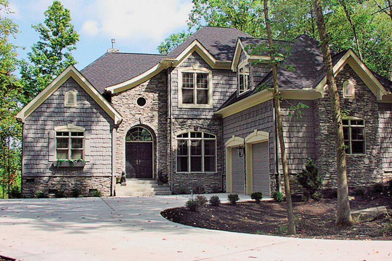 Dream House Plan - Country Exterior - Front Elevation Plan #453-29