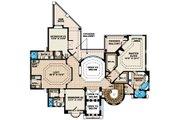 European Style House Plan - 4 Beds 4.5 Baths 5164 Sq/Ft Plan #27-431 Floor Plan - Upper Floor