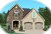 Traditional Style House Plan - 3 Beds 2.5 Baths 1826 Sq/Ft Plan #81-13619