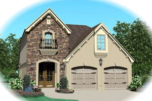 Traditional Exterior - Front Elevation Plan #81-13619