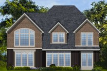 Dream House Plan - European Exterior - Rear Elevation Plan #48-260