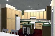 Southern Style House Plan - 3 Beds 2 Baths 2091 Sq/Ft Plan #44-142 Photo