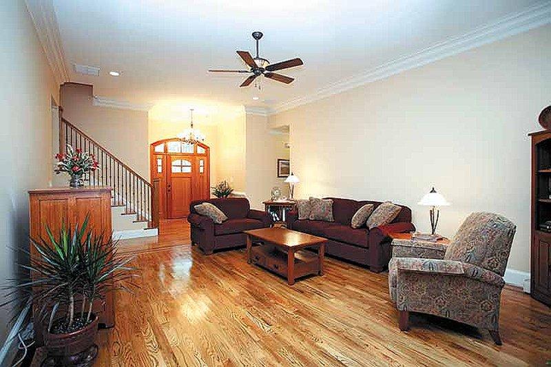 Traditional Interior - Entry Plan #56-541 - Houseplans.com