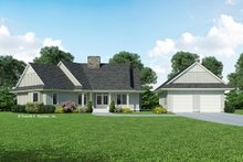House Plan Design - Country Exterior - Front Elevation Plan #929-270