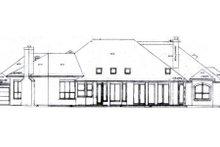 Dream House Plan - Mediterranean Exterior - Rear Elevation Plan #52-194