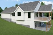 Craftsman Style House Plan - 3 Beds 2.5 Baths 2734 Sq/Ft Plan #1070-99 Exterior - Other Elevation