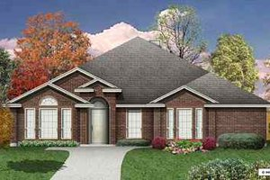 Home Plan - Traditional Exterior - Front Elevation Plan #84-135
