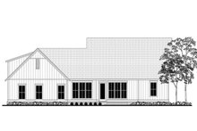 Farmhouse Exterior - Rear Elevation Plan #1067-3