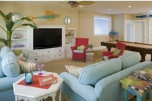 Dream House Plan - Traditional Interior - Family Room Plan #56-604