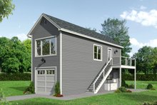 House Plan Design - Country Exterior - Front Elevation Plan #932-291