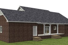 Ranch Exterior - Rear Elevation Plan #44-171