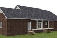 Dream House Plan - Ranch Exterior - Rear Elevation Plan #44-171