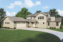 House Plan Design - Craftsman Exterior - Front Elevation Plan #1070-131