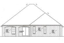 Dream House Plan - European Exterior - Rear Elevation Plan #310-982