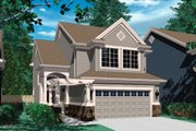 Craftsman Style House Plan - 4 Beds 2.5 Baths 1919 Sq/Ft Plan #48-319 Exterior - Front Elevation