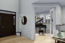 Craftsman Interior - Entry Plan #1060-65
