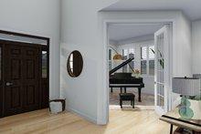 Architectural House Design - Craftsman Interior - Entry Plan #1060-65