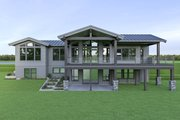 Contemporary Style House Plan - 3 Beds 2.5 Baths 3617 Sq/Ft Plan #1070-88